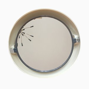 Backlit Space Age Mirror from Allibert, 1970s