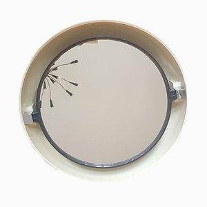 Miroir Rétro-Éclairé Space Age d'Allibert, années 70