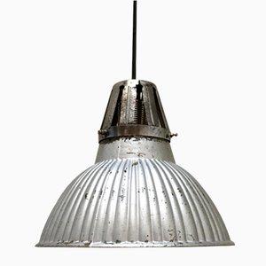 Mercury Glass Pendant Lamp, 1940s