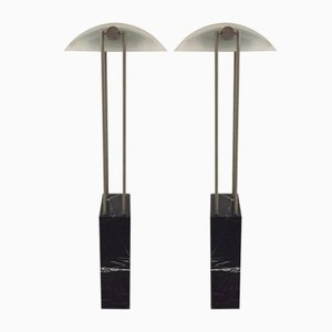 Floor Lamps by Pierre Lallemand for Moonlight, 1980s, Set of 2