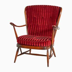 Englischer Vintage Armlehnstuhl von Ercol, 1960er