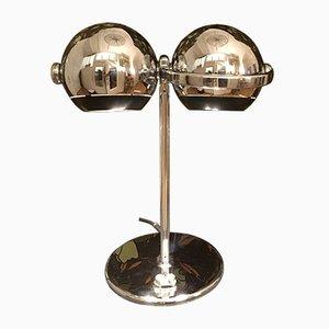 Lámpara de mesa vintage de cromo de Terence Conran para Erco, años 70