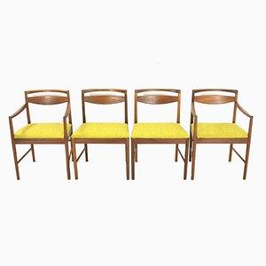 Vintage Esszimmerstühle von McIntosh, 1970er, 4er Set