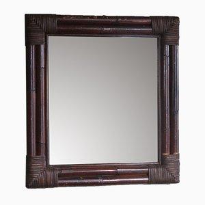 Miroir en Rotin, années 50