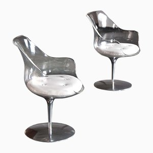 Champagne Chairs by Erwin & Estelle Laverne for Formes Nouvelles, 1960s, Set of 2