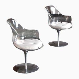 Champagne Chairs von Erwin & Estelle Laverne für Formes Nouvelles, 1960er, 2er Set