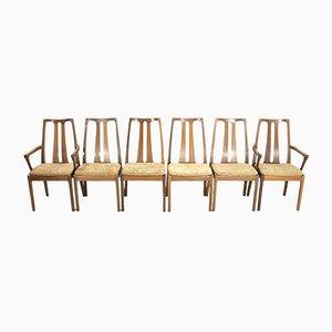 Vintage Esszimmerstühle aus Teak von Nathan, 1970er, 6er Set