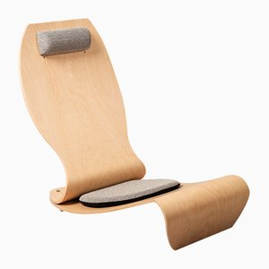 Chaise d'Appoint LA CUZA M par Yasuhiro Shimizu pour Tendo Mokko