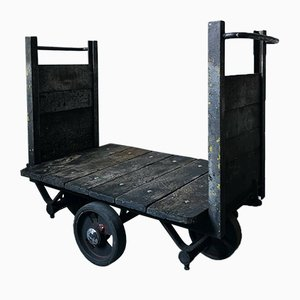 Antique Industrial Miners Trolley