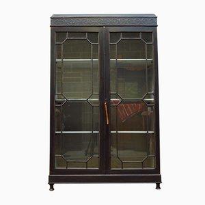 Black Glazed Cabinet, 1930s