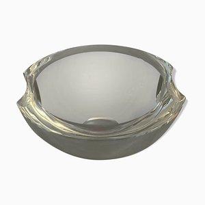 Cuenco de cristal de Murano, años 70