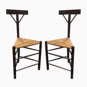 Beistellstühle, 1940er, 2er Set