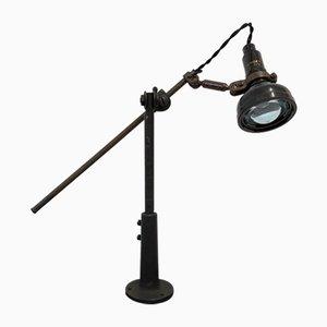 Industrielle Vintage Tischlampe von Singer für Simanco, 1920er