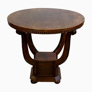 Oak Dining Table, 1920s