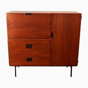 Dutch Teak Model C01 Cabinet by Cees Braakman for Pastoe, 1950s