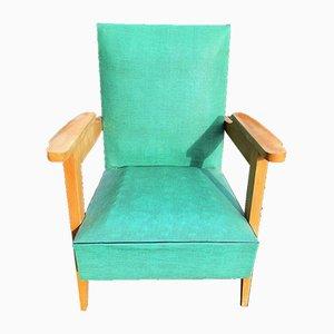 Sessel mit Gestell aus Eiche, 1950er