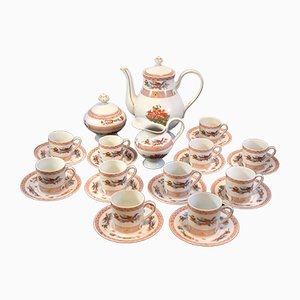 Model Fou Tchéou Coffee Set by Bernardaud for Limoges, 1970s