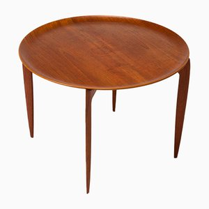 Danish Teak Side Table by Willumsen & Engholm for Fritz Hansen, 1960s
