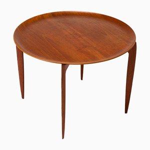 Table d'Appoint en Teck par Willumsen & Engholm pour Fritz Hansen, Danemark, 1960s