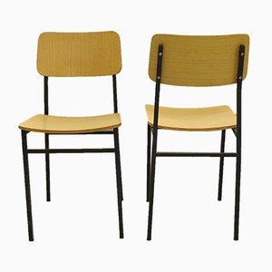 Vintage Beistellstühle, 1960er, 2er Set