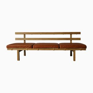 Vintage Oak Daybed by Dan Svarth for Fredericia, 1970s