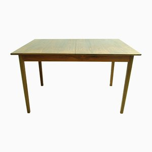 Mid-Century Expandable Rosewood Dining Table, 1960s