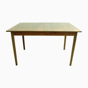 Tavolo da pranzo Mid-Century allungabile in palissandro, anni '60