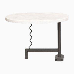 Table Basse en Marbre par Mac Architecture, Italie, 1980s