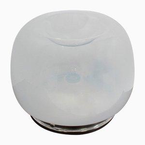 Lámpara de mesa de vidrio soplado a mano de Mazzega, años 70