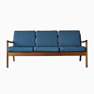 Sofá de tres plazas de palisandro de Ole Wanscher para France & Søn / France & Daverkosen, años 60
