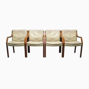 Mid-Century Antimott Lounge Chairs from Knoll, Set of 4
