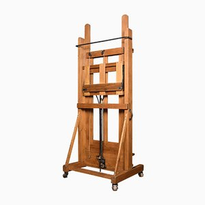 Large Antique Studio Easel from Windsor and Newton