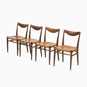 Modell Bambi Esszimmerstühle von Rastad og Relling Tegnekontor für Gustav Bahus, 1950er, 4er Set