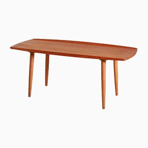 Table Basse Vintage en Teck, Danemark, 1960s