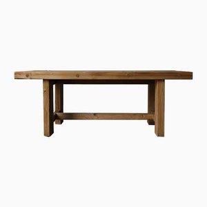 Danish Pinewood Dining Table by Jens Lyngsøe, 1980s