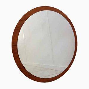 Espejo Mid-Century redondo, años 60