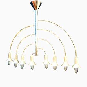 Lámpara de araña Mid-Century de Max Bill para Temde, años 60