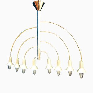 Mid-Century Chandelier by Max Bill for Temde, 1960s