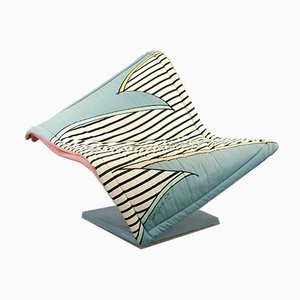 Postmodern German Model Flying Carpet Lounge Chair by Simon Desanta for Rosenthal, 1980s