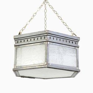 Lámpara de techo antigua, años 10