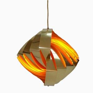 Lámpara colgante de Louis Weisdorf para Lyfa, años 60