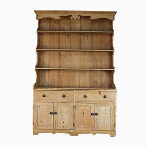 Cajonera de cocina rústica antigua grande de madera de pino