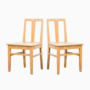 Swedish Farmhouse Chairs, 1940s, Set of 2