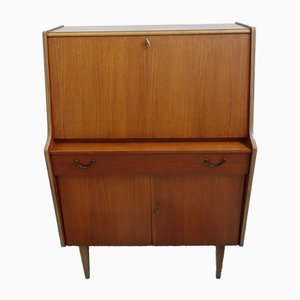 Teak Veneer Model Lisa Secretaire from de Faka, 1960s