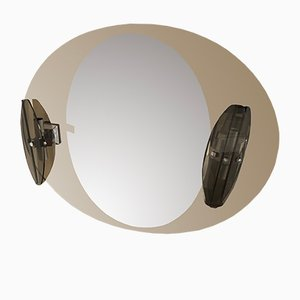Wall Mirror from Fontana Arte, 1970s