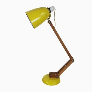 Yellow Model Maclamp Table Lamp by Terence Conran for Habitat, 1960s