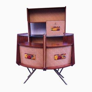Mesas de bar italianas vintage, años 50. Juego de 2