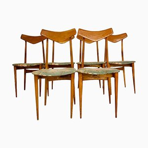 September Dining Chairs by Ico & Luisa Parisi, 1970s, Set of 6