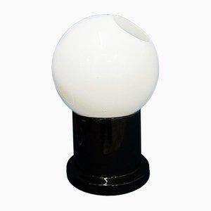 Lámpara de pie de cerámica, años 70