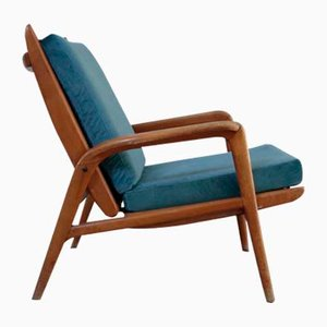 Italian Lounge Chair from Cerutti, 1950s